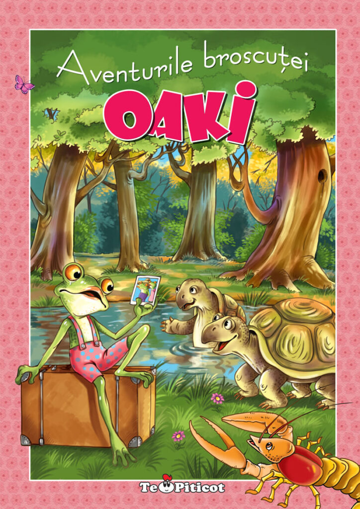 Aventurile broscutei Oaki