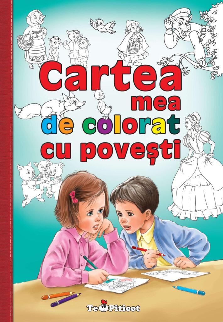 Cartea mea de colorat cu povesti
