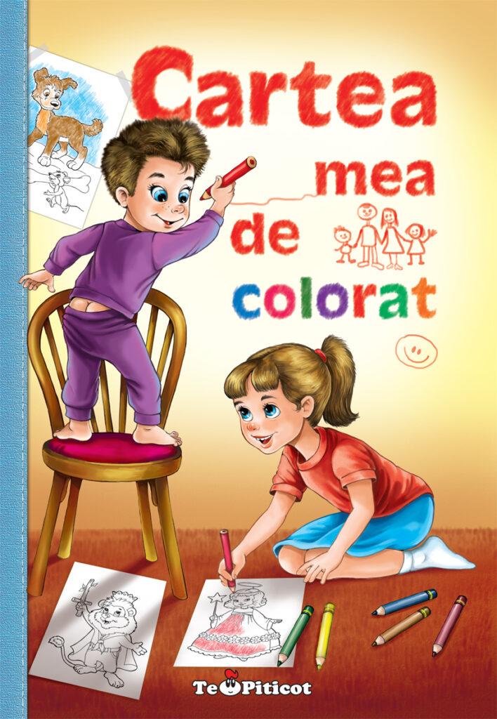 Cartea mea de colorat